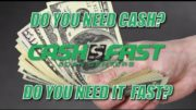 "Cash Fast: ""Need Cash"" Spot"