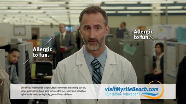 "Myrtle Beach ""Allergic To Fun"" Campaign"