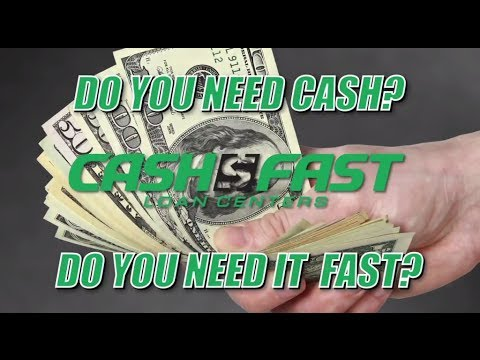 """Cash Fast: """"Need Cash"""" Spot"""