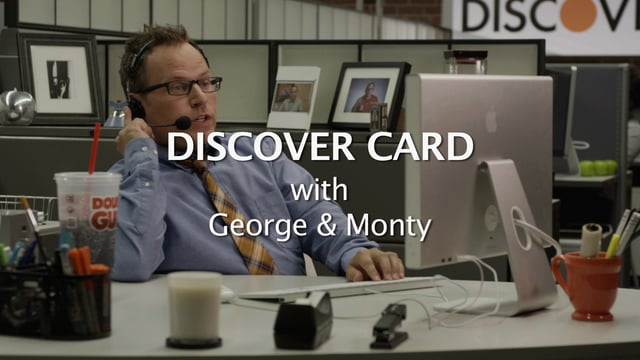 """Discover Card"" w/ George & Monty"