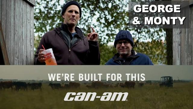 Can Am w/ George & Monty